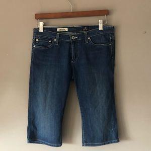 Ag adriano Goldschmied Bermuda jean shorts 28